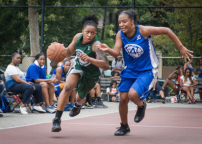 Ann Barrino, Katrina Peru West 4th Street Women's Pro Classic NYC: Primetime (Blue) 82 v Quiet Storm (Green) 51, William F. Passannante Ballfield, New York, NY, July 15, 2012