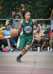 Ann Barrino West 4th Street Women's Pro Classic NYC: Primetime (Blue) 82 v Quiet Storm (Green) 51, William F. Passannante Ballfield, New York, NY, July 15, 2012