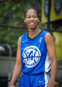 Maurita Reid West 4th Street Women's Pro Classic NYC: Primetime (Blue) 82 v Quiet Storm (Green) 51, William F. Passannante Ballfield, New York, NY, July 15, 2012