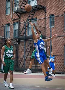 Bianca Brown, Yolanda Alford, Candice Lloyd West 4th Street Women's Pro Classic NYC: Primetime (Blue) 82 v Quiet Storm (Green) 51, William F. Passannante Ballfield, New York, NY, July 15, 2012