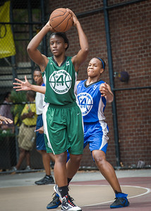 Marcelyn Williams, Bianca Brown West 4th Street Women's Pro Classic NYC: Primetime (Blue) 82 v Quiet Storm (Green) 51, William F. Passannante Ballfield, New York, NY, July 15, 2012