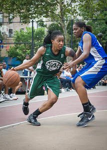 Ann Barrino, Crystal McFadden West 4th Street Women's Pro Classic NYC: Primetime (Blue) 82 v Quiet Storm (Green) 51, William F. Passannante Ballfield, New York, NY, July 15, 2012