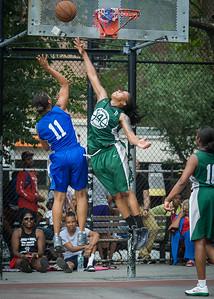 Maurita Reid, Ann Barrino West 4th Street Women's Pro Classic NYC: Primetime (Blue) 82 v Quiet Storm (Green) 51, William F. Passannante Ballfield, New York, NY, July 15, 2012