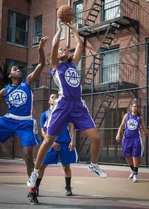 Alicea Ulmer West 4th Street Women's Pro Classic NYC: Lady Soldiers (Blue) 83 v Da Bizznezz (Purple) 54, William F. Passannante Ballfield, New York, NY, July 15, 2012