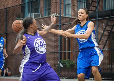 Sade Jackson West 4th Street Women's Pro Classic NYC: Lady Soldiers (Blue) 83 v Da Bizznezz (Purple) 54, William F. Passannante Ballfield, New York, NY, July 15, 2012