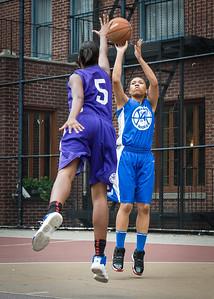Marika Sprow, Raven Bryant West 4th Street Women's Pro Classic NYC: Lady Soldiers (Blue) 83 v Da Bizznezz (Purple) 54, William F. Passannante Ballfield, New York, NY, July 15, 2012