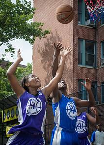 Alicea Ulmer, Terry Green West 4th Street Women's Pro Classic NYC: Lady Soldiers (Blue) 83 v Da Bizznezz (Purple) 54, William F. Passannante Ballfield, New York, NY, July 15, 2012