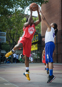 Korinne Campbell, Marika Sprow West 4th Street Women's Pro Classic NYC: Sports Challenge Semis: Big East Ballers (Red) 41 v White All Stars 34, William F. Passannante Ballfield, New York, NY, July 21, 2012