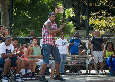 West 4th Street Women's Pro Classic NYC: Sports Challenge Semis: Big East Ballers (Red) 41 v White All Stars 34, William F. Passannante Ballfield, New York, NY, July 21, 2012