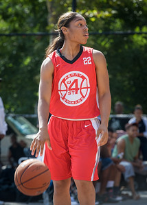 Anika Rivera West 4th Street Women's Pro Classic NYC: Sports Challenge Semis: Big East Ballers (Red) 41 v White All Stars 34, William F. Passannante Ballfield, New York, NY, July 21, 2012