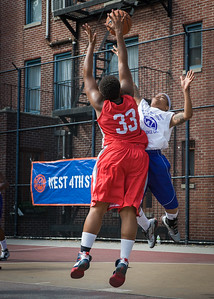 Shorty Reed, Tasha Cannon West 4th Street Women's Pro Classic NYC: Sports Challenge Semis: Big East Ballers (Red) 41 v White All Stars 34, William F. Passannante Ballfield, New York, NY, July 21, 2012