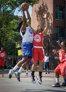 Rashawna French, Anika Rivera West 4th Street Women's Pro Classic NYC: Sports Challenge Semis: Big East Ballers (Red) 41 v White All Stars 34, William F. Passannante Ballfield, New York, NY, July 21, 2012
