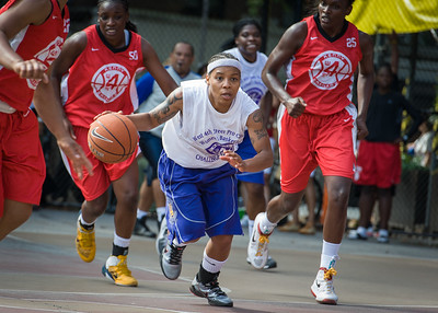 Shorty Reed  West 4th Street Women's Pro Classic NYC: Sports Challenge Semis: Big East Ballers (Red) 41 v White All Stars 34, William F. Passannante Ballfield, New York, NY, July 21, 2012