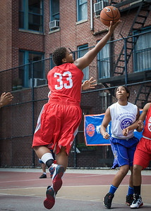 Tasha Cannon West 4th Street Women's Pro Classic NYC: Sports Challenge Semis: Big East Ballers (Red) 41 v White All Stars 34, William F. Passannante Ballfield, New York, NY, July 21, 2012