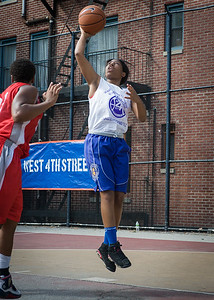 Nadirah McKenith West 4th Street Women's Pro Classic NYC: Sports Challenge Semis: Big East Ballers (Red) 41 v White All Stars 34, William F. Passannante Ballfield, New York, NY, July 21, 2012