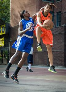 Renneika Razor, Terry Green West 4th Street Women's Pro Classic NYC: Deuce Trey (Orange) 74 v Lady Soldiers (Blue) 71, William F. Passannante Ballfield, New York, NY, July 21, 2012