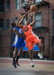 Yolanda Rayside, Terry Green West 4th Street Women's Pro Classic NYC: Deuce Trey (Orange) 74 v Lady Soldiers (Blue) 71, William F. Passannante Ballfield, New York, NY, July 21, 2012