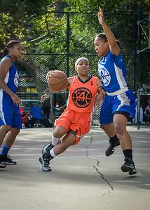 Shorty Reed, Desiree Simmons West 4th Street Women's Pro Classic NYC: Deuce Trey (Orange) 74 v Lady Soldiers (Blue) 71, William F. Passannante Ballfield, New York, NY, July 21, 2012