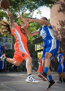 Nicky Young, Marika Sprow West 4th Street Women's Pro Classic NYC: Deuce Trey (Orange) 74 v Lady Soldiers (Blue) 71, William F. Passannante Ballfield, New York, NY, July 21, 2012