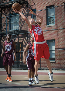 Laurence Mathieu-Leger West 4th Street Women's Pro Classic NYC: Saints (Burgundy) 47 v Ball 4 Life (Red) 20, William F. Passannante Ballfield, New York, NY, July 22, 2012, 2012