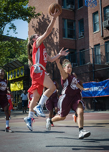 Resia Asimovic, Victoria Fleisher West 4th Street Women's Pro Classic NYC: Saints (Burgundy) 47 v Ball 4 Life (Red) 20, William F. Passannante Ballfield, New York, NY, July 22, 2012, 2012