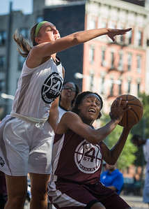 Tania Greenleaf, Kaitlin Cole West 4th Street Women's Pro Classic NYC: Brooklyn Express (Burgundy) 75 v Crossover (White) 52, William F. Passannante Ballfield, New York, NY, July 22, 2012, 2012