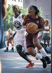 Tania Greenleaf, Tonaya Hollis West 4th Street Women's Pro Classic NYC: Brooklyn Express (Burgundy) 75 v Crossover (White) 52, William F. Passannante Ballfield, New York, NY, July 22, 2012, 2012