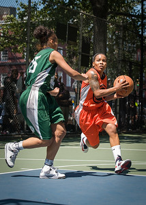 "Shorty Reed, Jael Pena West 4th Street Women's Pro Classic NYC: Exodus NYC Apache (Green) 61 v Deuce Trey (Orange) 47, ""The Cage"", New York, NY, August 4, 2012"
