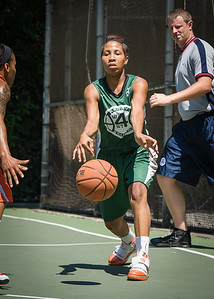 "Erica Morrow West 4th Street Women's Pro Classic NYC: Exodus NYC Apache (Green) 61 v Deuce Trey (Orange) 47, ""The Cage"", New York, NY, August 4, 2012"