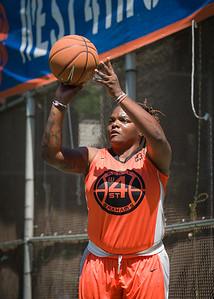 "Lawanda Greene West 4th Street Women's Pro Classic NYC: Exodus NYC Apache (Green) 61 v Deuce Trey (Orange) 47, ""The Cage"", New York, NY, August 4, 2012"