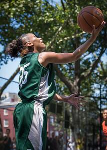 "Jael Pena West 4th Street Women's Pro Classic NYC: Exodus NYC Apache (Green) 61 v Deuce Trey (Orange) 47, ""The Cage"", New York, NY, August 4, 2012"
