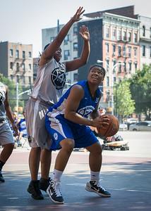 DeeDee Pearson, Robyn Mumford West 4th Street Women's Pro Classic NYC: Lady Soldiers (Blue) 59 v Imperial Crew (Grey) 50, William F. Passannante Ballfield, New York, NY, August 4, 2012.