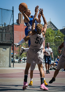 DeeDee Pearson, Nicky Souter West 4th Street Women's Pro Classic NYC: Lady Soldiers (Blue) 59 v Imperial Crew (Grey) 50, William F. Passannante Ballfield, New York, NY, August 4, 2012.