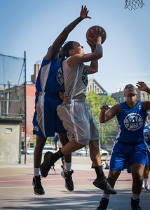 Mallory Williams West 4th Street Women's Pro Classic NYC: Lady Soldiers (Blue) 59 v Imperial Crew (Grey) 50, William F. Passannante Ballfield, New York, NY, August 4, 2012.