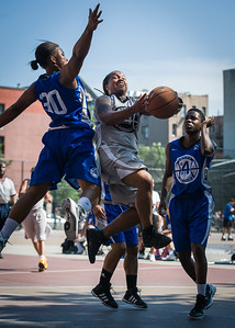 Robyn Mumford, DeeDee Pearson, Alicia Cropper West 4th Street Women's Pro Classic NYC: Lady Soldiers (Blue) 59 v Imperial Crew (Grey) 50, William F. Passannante Ballfield, New York, NY, August 4, 2012.
