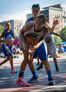 Nicky Souter West 4th Street Women's Pro Classic NYC: Lady Soldiers (Blue) 59 v Imperial Crew (Grey) 50, William F. Passannante Ballfield, New York, NY, August 4, 2012.