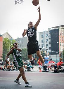 Roslyn Gold, Yolanda Alford West 4th Street Women's Pro Classic NYC: Quiet Storm (Green) 49 v Down the Hatch (Black) 38, William F. Passannante Ballfield, New York, NY, August 4, 2012.