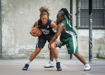 Roslyn Gold-Onwude, Hassanah Abdullah West 4th Street Women's Pro Classic NYC: Quiet Storm (Green) 49 v Down the Hatch (Black) 38, William F. Passannante Ballfield, New York, NY, August 4, 2012.
