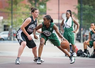 Yolanda Alford, Lisa Wellsome West 4th Street Women's Pro Classic NYC: Quiet Storm (Green) 49 v Down the Hatch (Black) 38, William F. Passannante Ballfield, New York, NY, August 4, 2012.