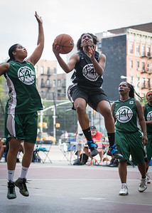 Aziza Patterson, Silvia Rios West 4th Street Women's Pro Classic NYC: Quiet Storm (Green) 49 v Down the Hatch (Black) 38, William F. Passannante Ballfield, New York, NY, August 4, 2012.