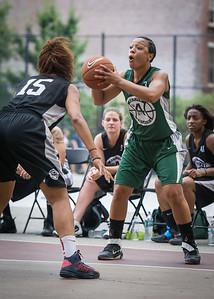 Shenee Clarke West 4th Street Women's Pro Classic NYC: Quiet Storm (Green) 49 v Down the Hatch (Black) 38, William F. Passannante Ballfield, New York, NY, August 4, 2012.