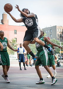 Aziza Patterson West 4th Street Women's Pro Classic NYC: Quiet Storm (Green) 49 v Down the Hatch (Black) 38, William F. Passannante Ballfield, New York, NY, August 4, 2012.