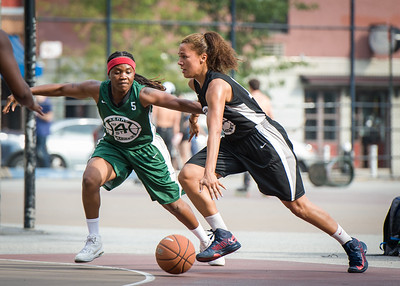 Roslyn Gold-Onwude, Natasha Philip West 4th Street Women's Pro Classic NYC: Quiet Storm (Green) 49 v Down the Hatch (Black) 38, William F. Passannante Ballfield, New York, NY, August 4, 2012.