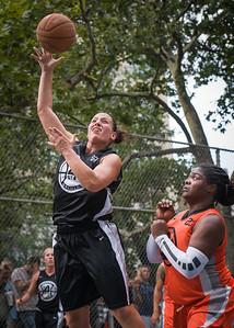 "Mary Lepore West 4th Street Women's Pro Classic NYC: Deuce Trey (Orange) 90 v Cobra Hustlers (Black) 80, ""The Cage"", New York, NY, August 5, 2012"