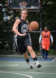 "Michelle Kurowski West 4th Street Women's Pro Classic NYC: Deuce Trey (Orange) 90 v Cobra Hustlers (Black) 80, ""The Cage"", New York, NY, August 5, 2012"