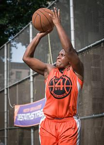 "Shac Campbell West 4th Street Women's Pro Classic NYC: Deuce Trey (Orange) 90 v Cobra Hustlers (Black) 80, ""The Cage"", New York, NY, August 5, 2012"
