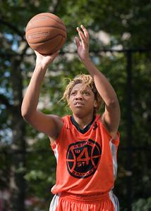 "Racquel Davis West 4th Street Women's Pro Classic NYC: Deuce Trey (Orange) 90 v Cobra Hustlers (Black) 80, ""The Cage"", New York, NY, August 5, 2012"