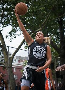 "Chris Marrone West 4th Street Women's Pro Classic NYC: Deuce Trey (Orange) 90 v Cobra Hustlers (Black) 80, ""The Cage"", New York, NY, August 5, 2012"