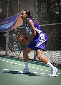 "Jewel Adams West 4th Street Women's Pro Classic NYC: Run N Shoot (Purple) 93 v Cobra Hustlers (Black) 61 , ""The Cage"", New York, NY, August 11, 2012"