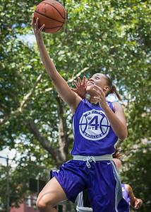 "Thanzina Cook West 4th Street Women's Pro Classic NYC: Run N Shoot (Purple) 93 v Cobra Hustlers (Black) 61 , ""The Cage"", New York, NY, August 11, 2012"